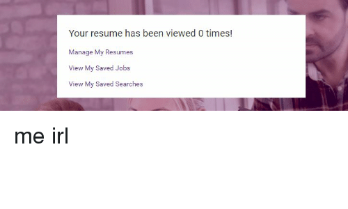 view my resumes