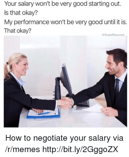 Your Salary Won't Be Very Good Starting Out Is That Okay? My