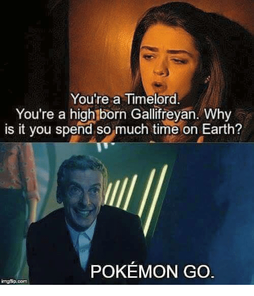 Memes Earth And Pokemon GO Youre A Timelord You