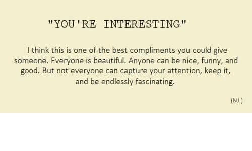 how to give good compliments