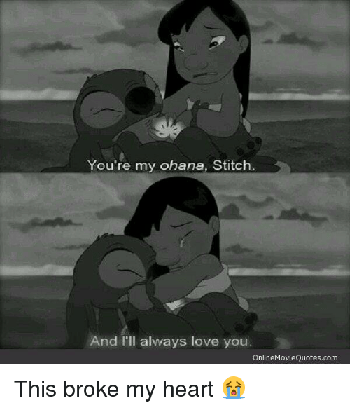 Youre My Ohana Stitch And Ill Always Love You Online Movie