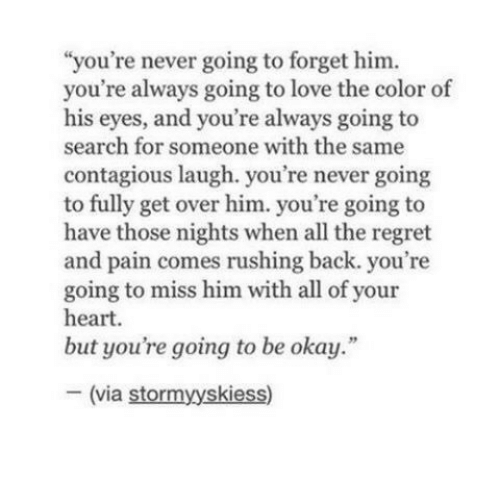 How to forget a guy you still love