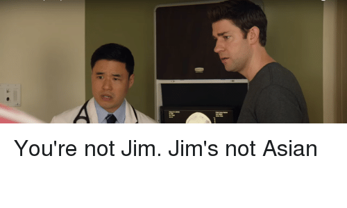 The Office Asian Jim