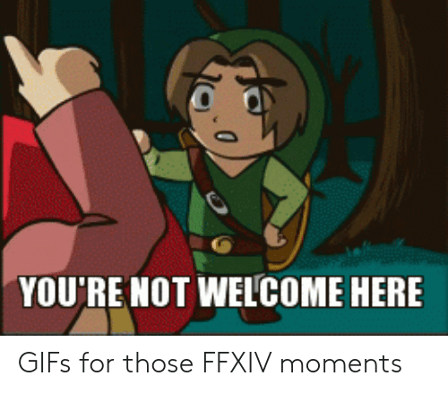 YOU'RE NOT WELCOME HERE | Gifs Meme on ME ME