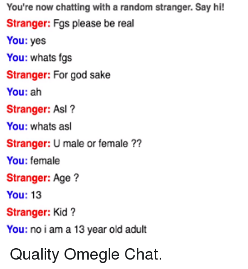 13 year old chat