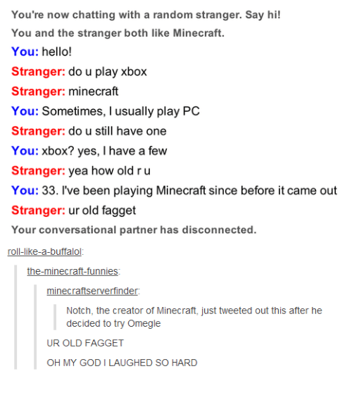 Playing Minecraft