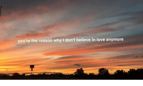 Youre The Reason Why I Dont Believe In Love Anymore Love Meme On