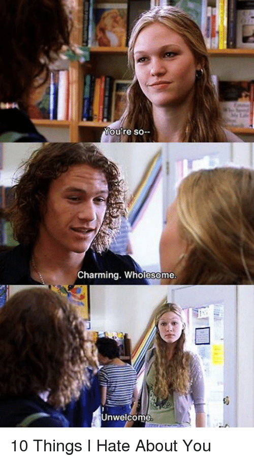 10 Kitchen And Home Decor Items Every 20 Something Needs: 25+ Best Memes About 10 Things I Hate About You
