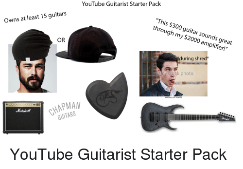YouTube Guitarist Starter Pack This $300 Guitar Sounds Great