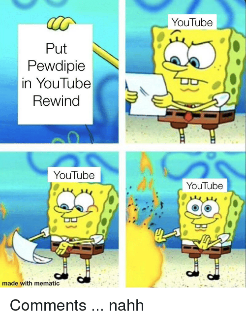 YouTube Put Pewdipie In YouTube Rewind YouTube YouTube