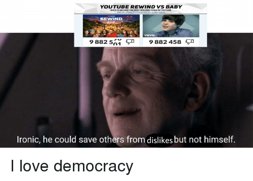YOUTUBE REWIND VS BABY RACE TO BECOME THE MOST DISLIKED VIDEO ON
