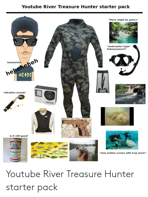 Youtube River Treasure Hunter Starter Pack There Might Be