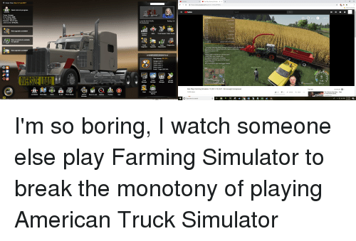 youTube Sips Plays Farming Simulator+ -OX O Game Time Mon