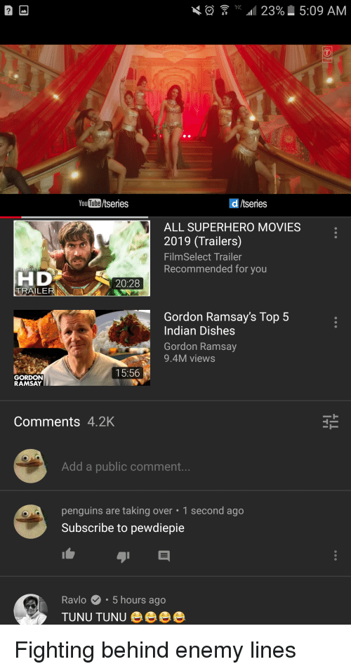 YouTubetseries D Tseries ALL SUPERHERO MOVIES 2019 Trailers
