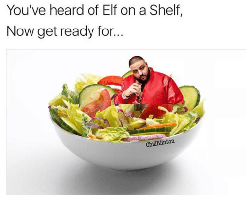 Elf, Now, and For: You've heard of Elf on a Shelf,  Now get ready for...  ChillBlinton