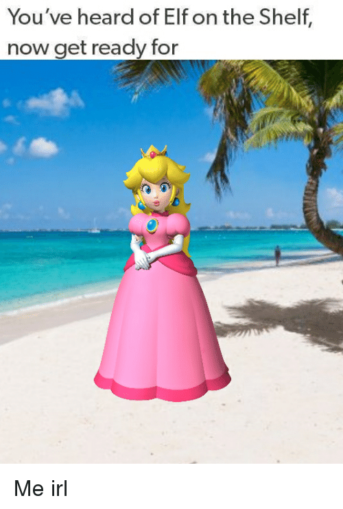 Elf, Elf on the Shelf, and Irl: You've heard of Elf on the Shelf,  now get ready for Me irl