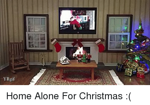 Being Alone Christmas And Home YRgif For