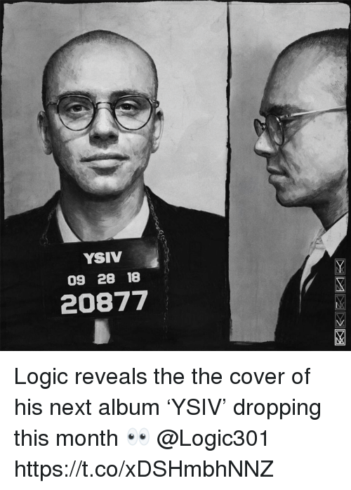 YSIV 09 28 18 20877 Logic Reveals the the Cover of His Next Album