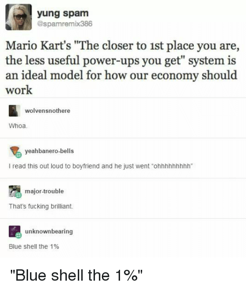 IMAGE(https://pics.me.me/yung-spam-spamremix386-mario-karts-the-closer-to-1st-place-23405999.png)