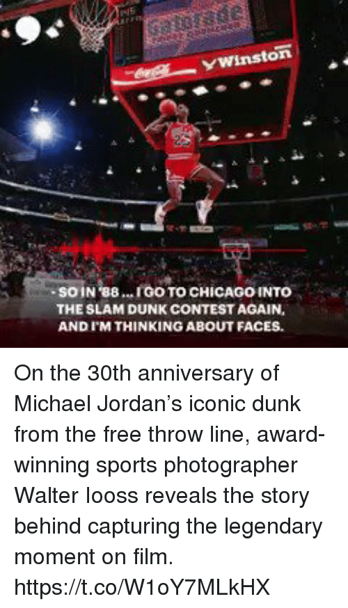 Ywinston Soin 88 Igo To Chicago Into The Slam Dunk Contest Again And