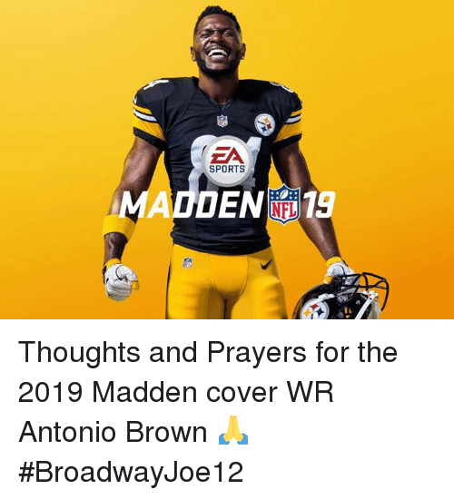 antonio brown jersey madden