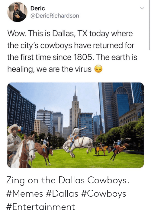 Dallas Cowboys, Memes, and Dallas Cowboys: Zing on the Dallas Cowboys. #Memes #Dallas #Cowboys #Entertainment