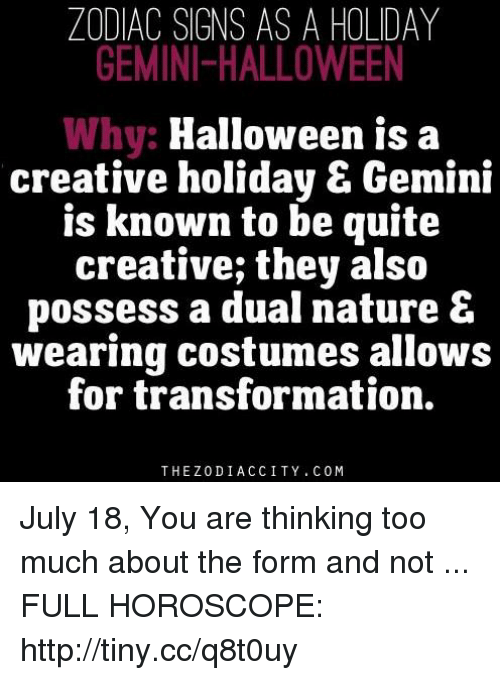 halloween too much and gemini zodiac signs as a holiday gemini halloween