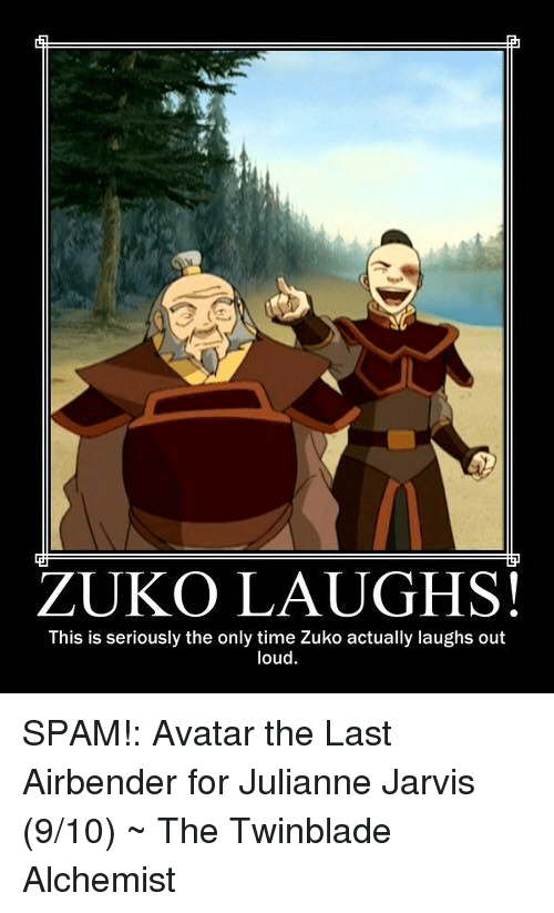 Zuko Laughs This Is Seriously The Only Time Zuko Actually Laughs